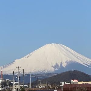 3月6日 富士山!