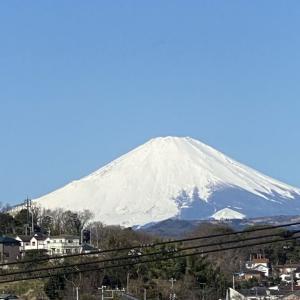 3月9日 富士山!