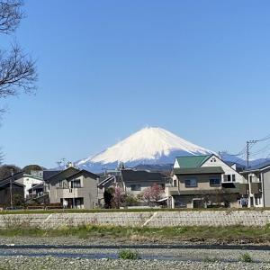 3月21日 富士山!