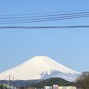 4月14日 富士山!