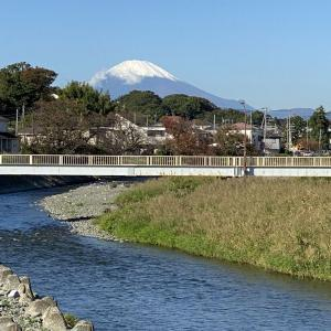 11月4日 富士山!