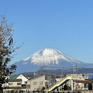 12月31日 真白き富士!