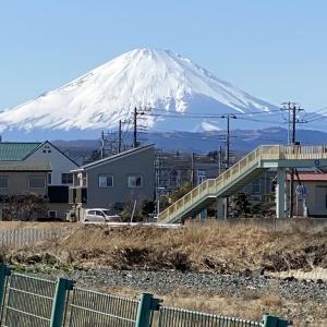 2月19日 富士山!