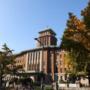 紅葉 日本大通りの銀杏