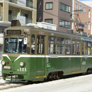 札幌市電M101号が遂に廃車、旧塗装車は全廃