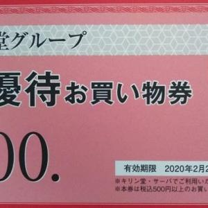 キリン堂(3194)の優待。買物券、PB商品などから選択。