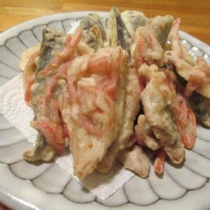 【旨魚料理】アジしょうが天