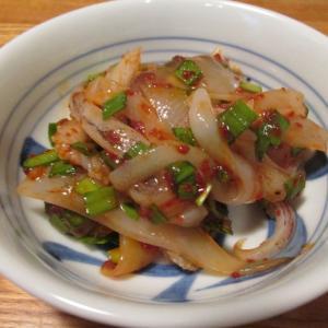 【旨魚料理】ヤリイカの薬念醤和え