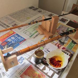 【仕掛・道具】久しぶりにフグ竿作り