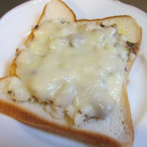 【旨魚料理】サバ缶チーズトースト