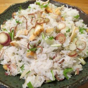 【旨魚料理】シラスと茗荷のまぜ寿司