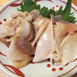 【旨魚料理】北寄貝の刺身
