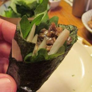 【旨魚料理】サバ缶手巻き