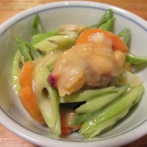 【旨魚料理】ボイルアオヤギの酢味噌和え