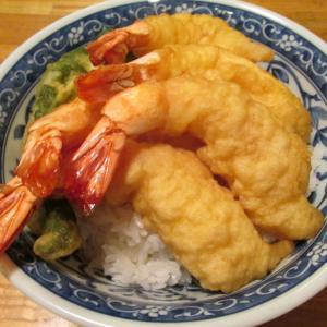 【旨魚料理】海老天丼