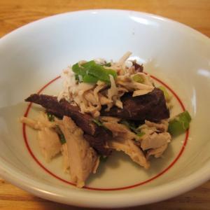 【旨魚料理】ヒラソウダのゴマニンニクフレーク