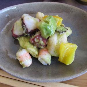 【旨魚料理】タコ海老ニョッキのサラダ