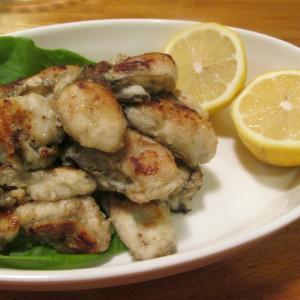 【旨魚料理】カキのオリーブオイル焼き