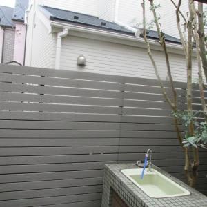 【完了報告】植栽剪定とウッドフェンス作り替え