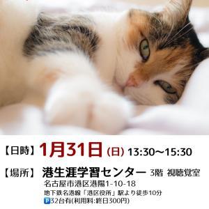★臨時譲渡会開催します★1月31日(日) 名古屋市港区