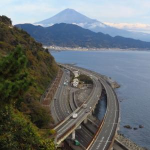 薩埵峠と桜えびランチツー(2020.12.11走行)