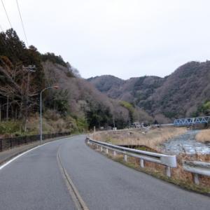 秋山街道~道志みちツー(2021.3.7走行)