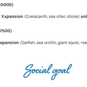 Kickstarter (Aqua garden) 1000%達成
