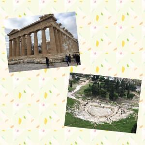 ドバイ→アテネの旅