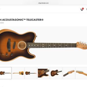 新発売!American Acoustasonic Stratocaster!!