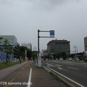 07/28 秋田市 山王十字路 竿燈大通り 周辺小路
