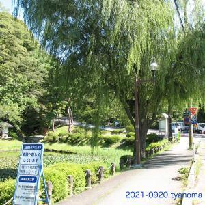 09/20 秋田市 山王十字路 竿燈大通り 周辺小路