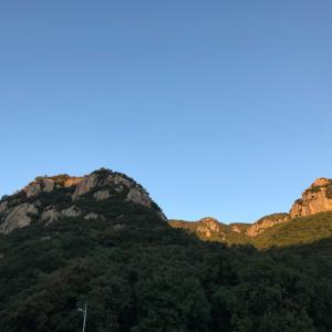 ■小豆島♪吉田の岩場でクライミング練習。