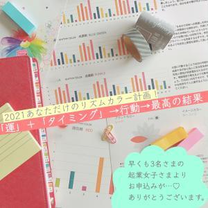 【2021年】リズムカラーご依頼3件!今年は早い!
