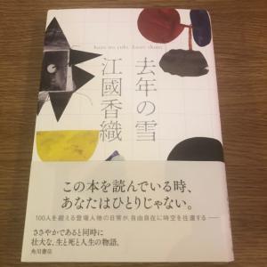 入院日記 読書 去年の雪 江國香織