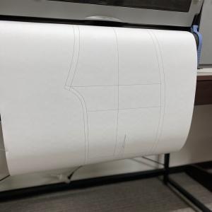 自動製図でパンツのパターン作成
