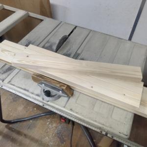 薪作り 玉切り台(玉切り用馬) 製作