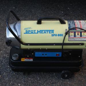 大容量ポータブル電源 EB120 EENOUR (5) スポットヒーター