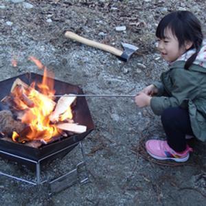 焚火が楽しい季節
