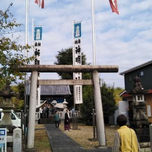 神明神社の祭礼