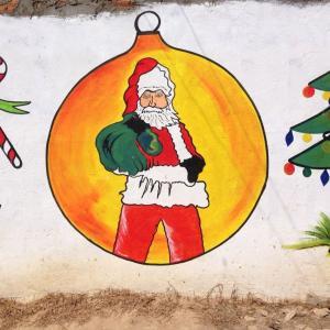 あけましておめでとうございます。はじめて任地ですごしたクリスマス&お正月