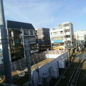 【JR稲田堤駅橋上駅舎化工事13・写真付き!】いけない、前回の記事更新から一か月経ってしまいましたが・・・あれ、工事はあまり進んでいないのか、いやそんなことはありません、なぜなら・・・
