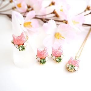 春限定の桜色の猫たち、2月から販売開始です