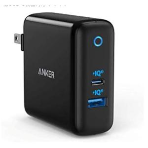 Anker急速充電器 Amazon で300個限定ポイント15%還元中「PowerPort Atom III(Two Ports)」に新色ブラック。アンカー セール割引き最新ニュース 2019年12月