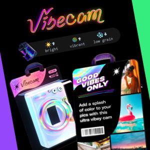 Dispoが新カメラ「Vibecam」追加!新フィルター/エフェクト登場。ディスポ新機能/アップデート最新情報 2021年7月