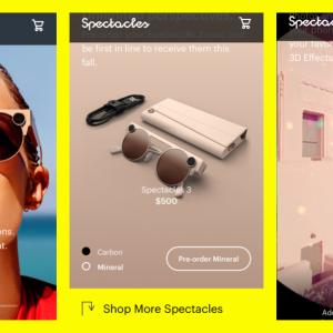 スナップチャット現実世界にARエフェクト!「Spectacles 3」予約開始!SNS/Snapchat新製品。スナチャの野望 最新情報 2019年8月