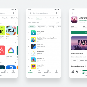Google Play Store新デザインに変更!グーグル/Android最新アップデート 2019年8月