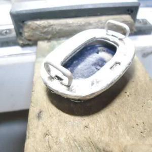 ブローチから帯留めにリメイク (2)