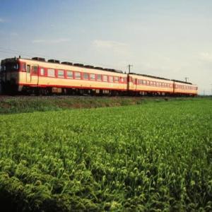 山陰本線キハ181系 鳥取⇔益田の特急くにびき 1996-08-17