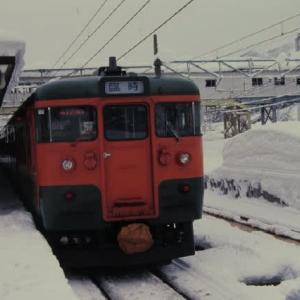 上越線115系 快速シーハイル湯沢中里 1999-01-15