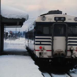 米坂線キハ58系 横浜から新潟経由で米沢へ 1999-01-15